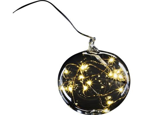 Leuchtobjekt Krinner Lumix Light Ball M Ø 8 cm batteriebetrieben 15er warmweiß inkl. Timerfunktion und Batterie