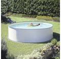 Stahlwandpool Basic Set Ø 450 x 120 cm, Höhe 120 cm