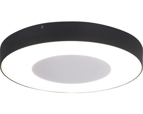 LED Sensor Außenwandleuchte IP54 24W 1390 lm 3000 K warmweiß Ø 270 mm weiß/anthrazit