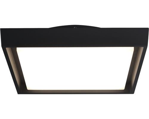 LED Außenwandleuchte IP54 30W 2500 lm 3000 K warmweiß 340x340 mm weiß/anthrazit