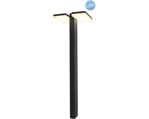 LED Außen Sockelleuchte IP44 24W 2000 lm 3000 K warmweiß H 800 mm anthrazit