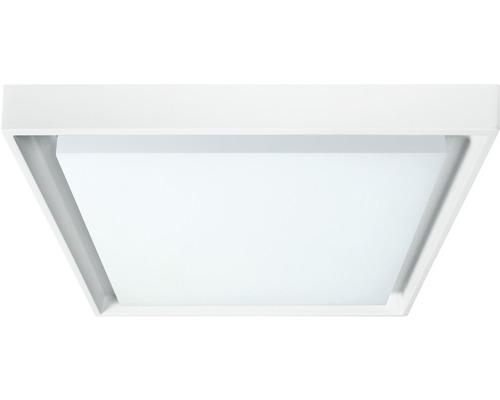 LED Sensor Außenwandleuchte IP54 25W 2250 lm 3000 K warnweiß 270x270 mm weiß/satiniert