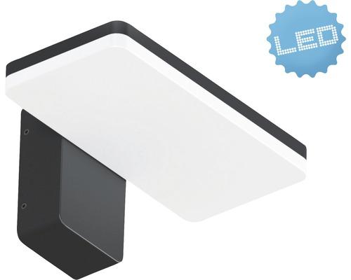 LED Außenwandleuchte IP65 12W 1000 lm 3000 K warmweiß B 146 mm anthrazit