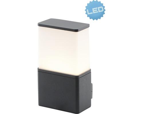LED Sensor Außenwandleuchte IP54 9W 630 lm 3000 K warmweiß H 220 mmanthrazit