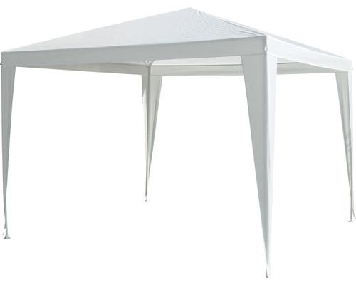 Partyzelt 3x3x2,5 m Polyethylen-Bändchengewebe 120 g/m² weiß