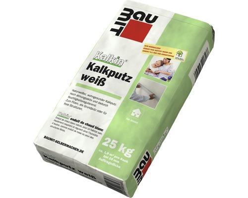 doitBau Kalk-Zement-Putz leicht 25kg Au/ßenputz Innen /& Au/ßen Oberputz Unterputz