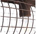 Deckenleuchte 3-flammig B 610 mm Pauletta rostfarben