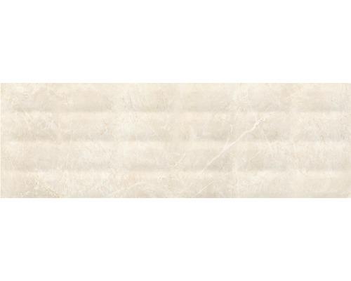 Steingut Dekorfliese Soft Marble 24 x 74 cm creme