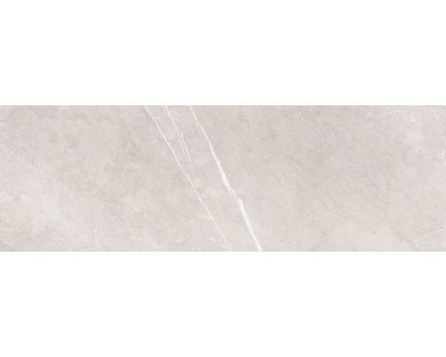Steingut Wandfliese Marquina 24 x 74 cn grau