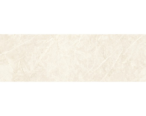 Steingut Wandfliese Soft Marble 24 x 74 cm creme
