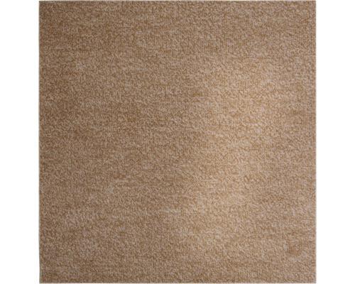 Teppichboden Shag Catania dunkelbeige 400 cm breit (Meterware)