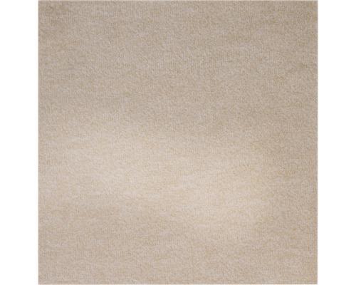 Teppichboden Shag Catania hellbeige 500 cm breit (Meterware)