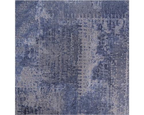 PVC Madison Textiloptik Denim 200 cm breit (Meterware)