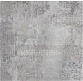 PVC Madison Textiloptik grau 200 cm breit (Meterware)