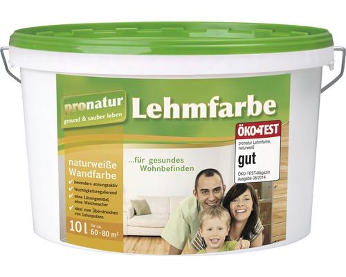 pronatur Lehmfarbe naturweiß 10 l