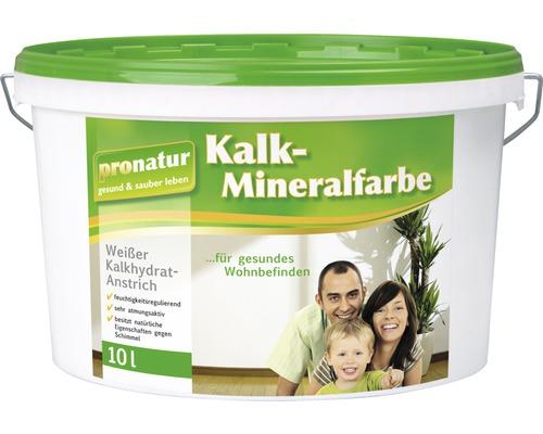pronatur Kalk-Mineralfarbe weiß 10 l