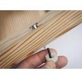 Plug & Shine Einbauspot-Set IP67 Ergänzungsset 5x0,22W 3 lm 3000 K warmweiß Ø 15/10 mm MicroPen II silber 230/24V 5 Stück