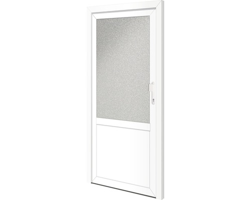 Nebeneingangstür Georgia 98x198 cm rechts mit 5-fach Veriegelung weiß