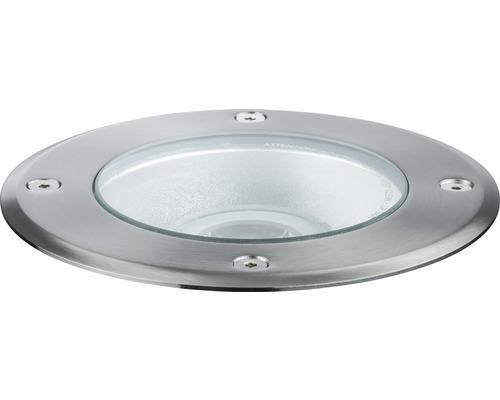 Plug & Shine Einbauspot IP67 3,3W 293 lm 4000 K neutralweiß Ø 140/135 mm silber 230/24V 38°