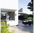 Insektenschutz Alu Rahmenfenster weiß 130x150 cm