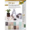 Designpapierblock Hotfoil 12 Blatt