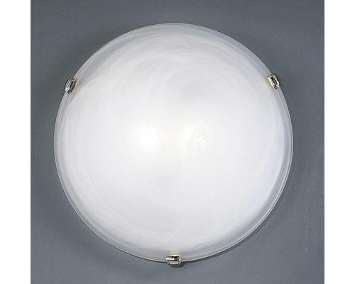 Deckenleuchte Salome 2-flammig weiß, chrom, 40 cm
