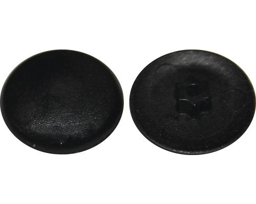 Abdeckkappe für I-Stern T 10, Schwarz, Kunststoff, 50 Stück