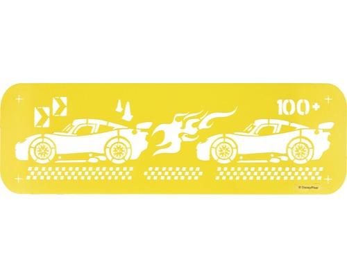 Dekor Schablone L Cars