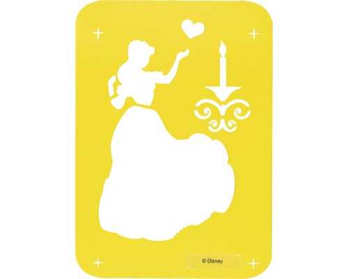 Dekor Schablone M Princess