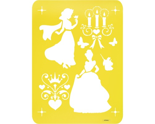 Dekor Schablone Disney XL Princess