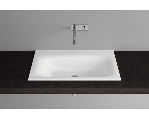 BETTE Einbauwaschbecken Lux 60 cm weiß A160-000