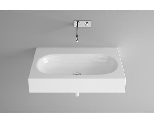 BETTE Waschtisch Comodo 80 cm ohne Bohrung weiß A211-000