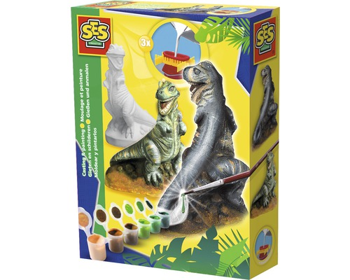 Kreativset Gipsfigur T-Rex