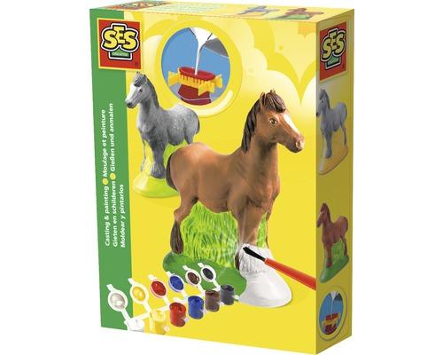 Kreativset Gipsfigur Pferd