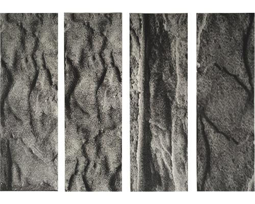 Antirutschsticker mySPOTTI stepon Stein anthraz Set mit 4 Streifen à 30 x 10 cm