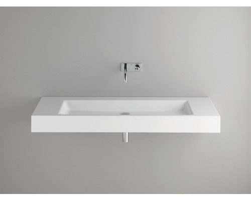 BETTE Waschtich Aqua 140 cm ohne Bohrung weiß A052-000