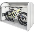Mülltonnenbox biohort StoreMax 190, 190x97x136 cm silber-metallic