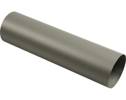 MEFA Zeitungsrolle Stahl pulverbeschichtet BxØ 420/110 mm 78 Basaltgrau RAL 7012 Struktur