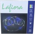 LED Lichtschlauch Lafiora außen und innen batteriebetrieben 9,75 m bunt inkl. Timerfunktion und Controller, 8 verschiedene Funktionen