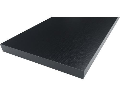 Möbelbauplatte Esche Schwarz 19x400x2630 mm