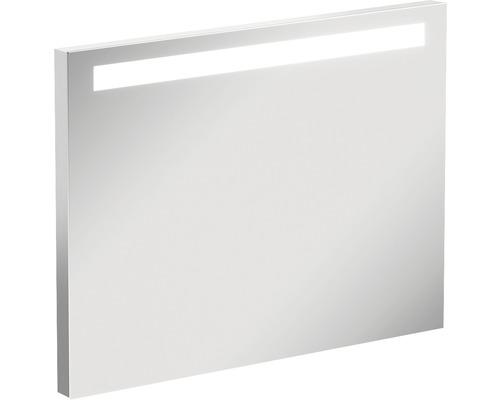 LED Badspiegel Metropolitan Beleuchtung aufgesetzt 80 cm IP 44 (fremdkörper- und spritzwassergeschützt)