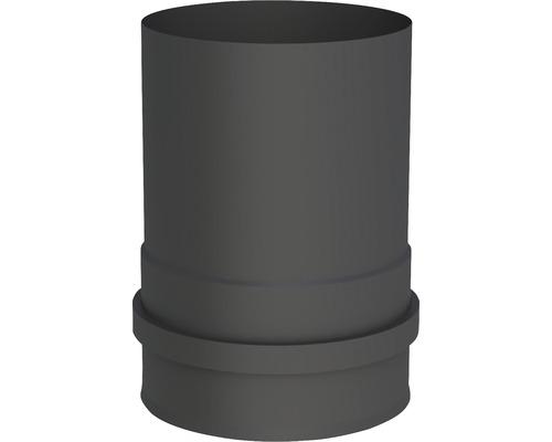 Pellet-Line Kesselanschluß mit 2 Muffen Ø 80mm schwarz