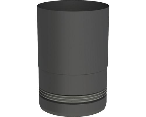 Pellet-Line Kesselanschluß mit Einzug Ø 80mm schwarz