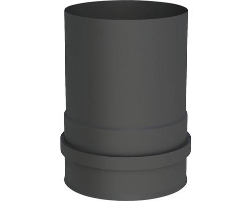 Pellet-Line Kesselanschluß mit 2 Muffen Ø 100mm schwarz