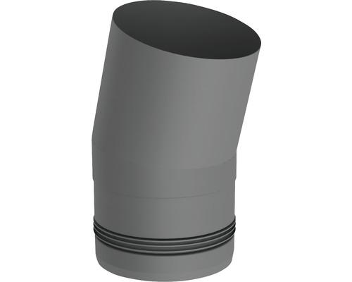 Pellet-Line Winkel 15° starr Ø 80mm grau