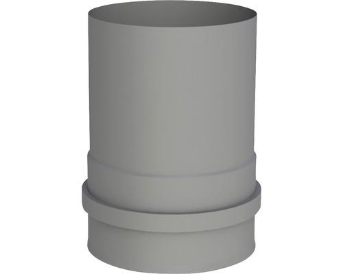 Pellet-Line Kesselanschluß mit 2 Muffen Ø 80mm grau