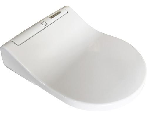 Beheizbarer WC Sitz ADOB beheizte Klobrille mit Absenkautomatik LED-Beleuchtung steckerfertig