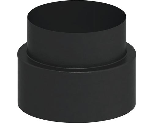 Jeremias Iso-Line Übergang Ofen auf Wandfutter Ø150mm schwarz