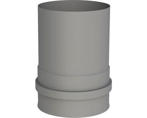 Pellet-Line Kesselanschluß mit 2 Muffen Ø 100mm grau