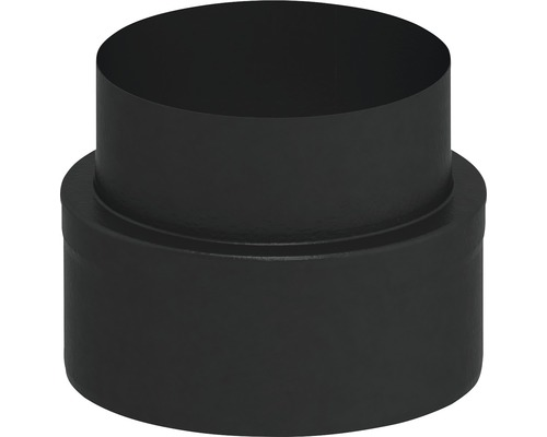 Jeremias Iso-Line Übergang Ofen auf Iso-Line Ø150mm schwarz